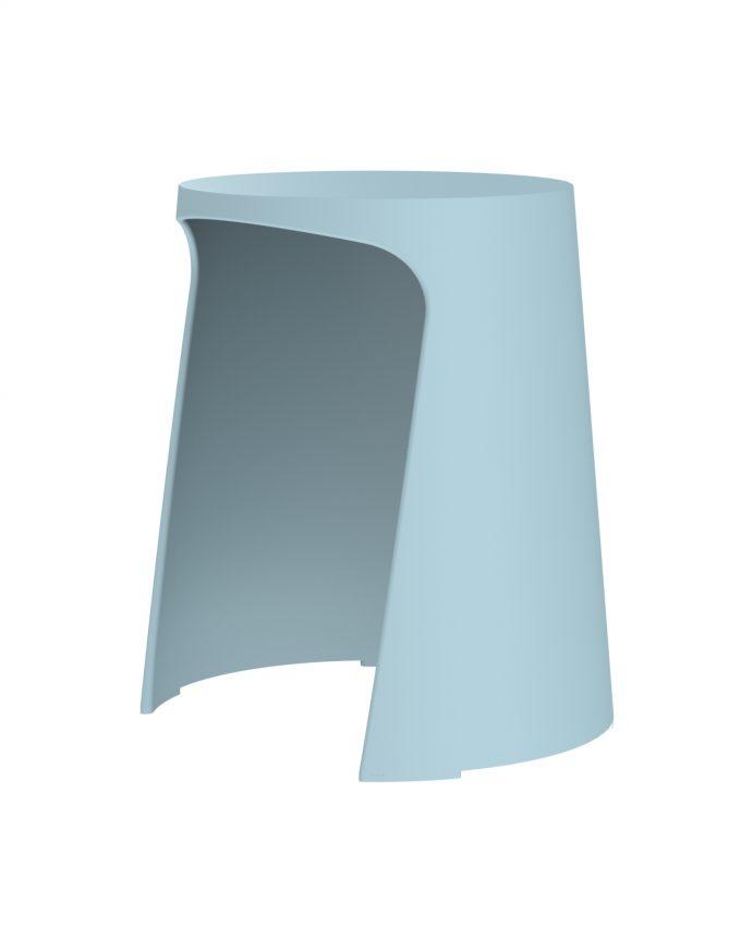Taburete Handy Azul Limpio