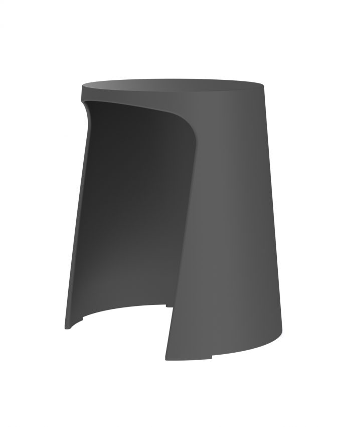 Taburete Handy Polipropileno Negro