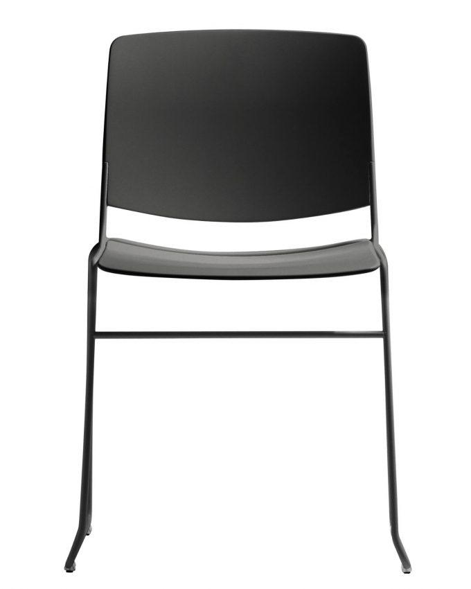 Silla Mass Apilable Negro